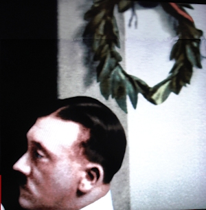 hitler and laurel crown