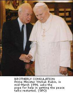Rabin and Pope